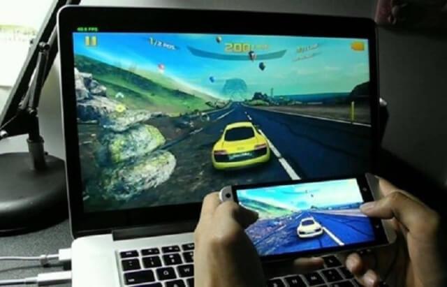 kết nối điện thoại với máy tính để chơi game